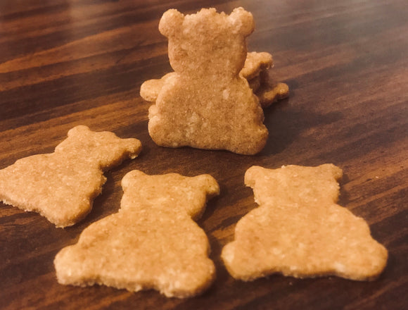 Teddy Bear Shaped Dog Treats!