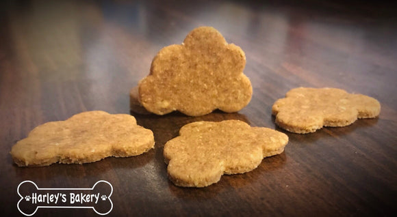 CLOUD Shaped Dog Treats!