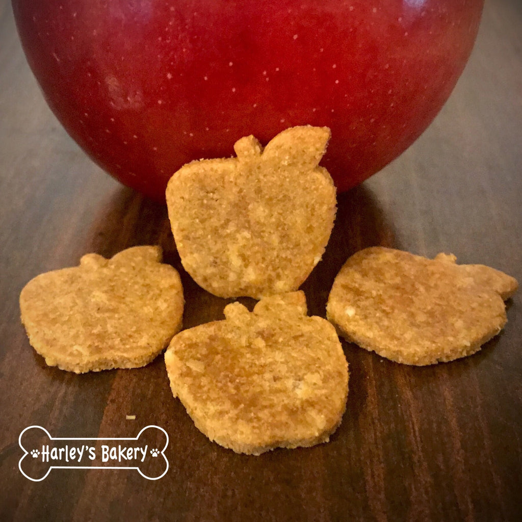 Apple Shaped Dog Treats!