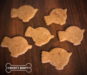 CHUBBY BIRD Shaped Dog Treats!