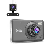 "H12-FHD 1080P 4"" Touch Screen Dual Dashcam"