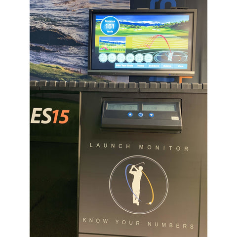 Ernest Sports ES15 Range Launch Monitor Indoor Golf Simulator 10187A