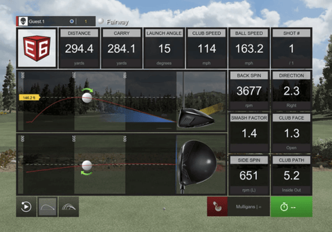 TruGolf Vista 12 PRO Golf Simulator w/ E6 Connect