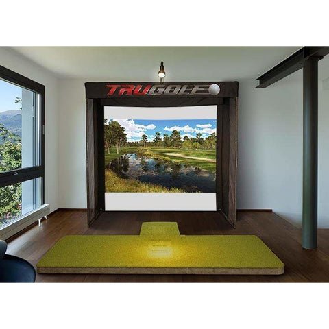 TruGolf Vista 8 Base Unit with E6 Connect Portable Indoor Golf Simulator 10-7273