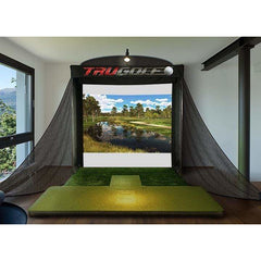 Image of TruGolf Vista 8 Pro Unit with E6 Connect Portable Golf Simulator 10-7273P