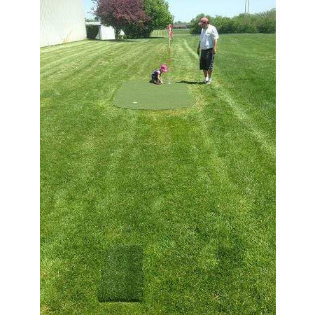Big Moss Target 6x15 Outdoor Putting Green & Chipping Mat 2024OTG