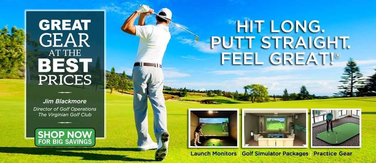 golf simulator sale