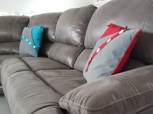 Guvnor 4 Piece Corner Sofas In 2 Colours-Corner Group sofa-Harveys-Against The Grain Furniture