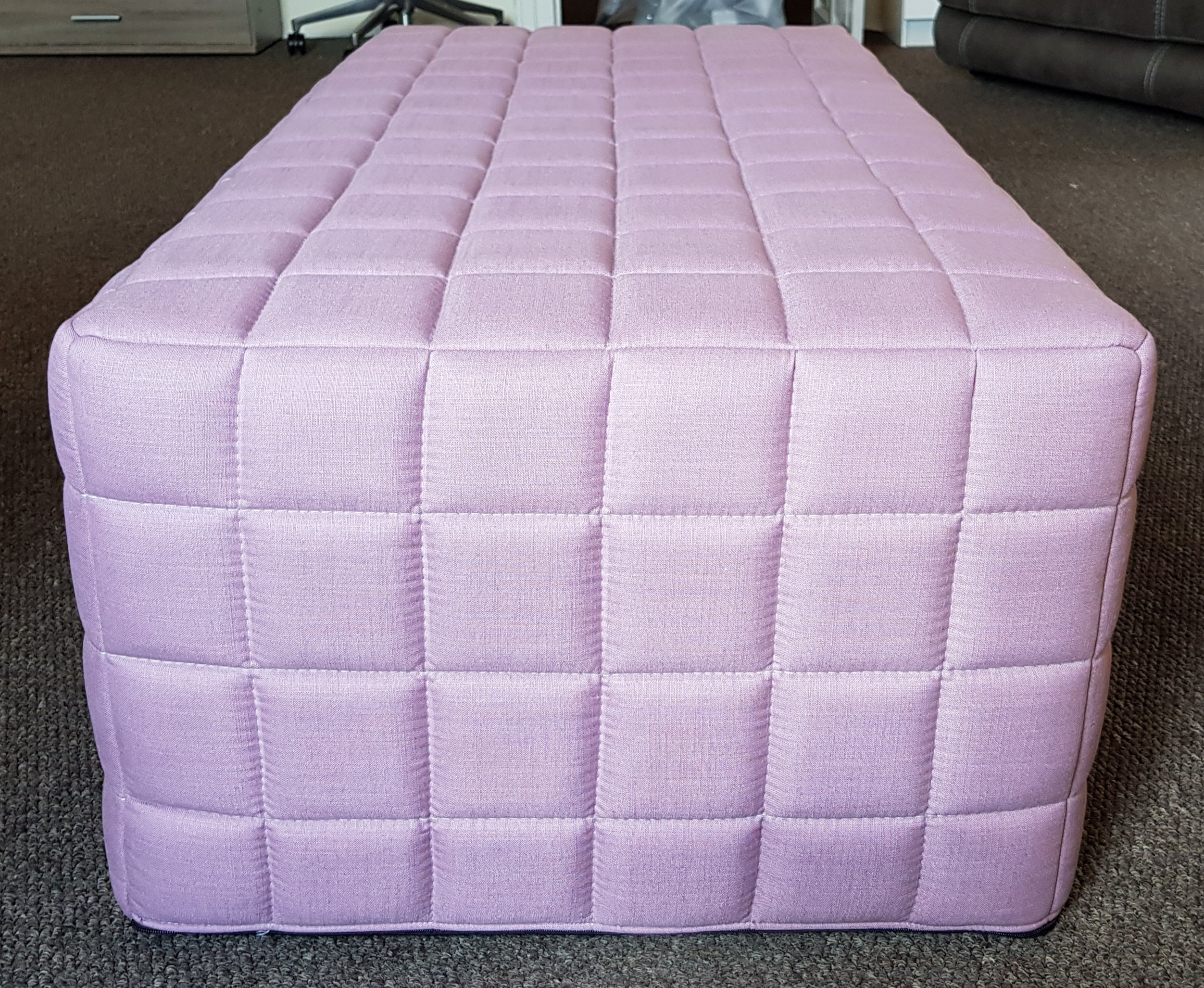 John Lewis Kix Double Bed in a Box-Bed settee-john lewis-Lawrence Pink-Against The Grain Furniture
