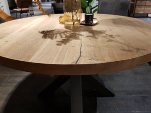 Habufa Brooklyn Ovada Starburst Dining Tables-Detroit-Against The Grain Furniture, Habufa Detroit, Furniture Village Detroit