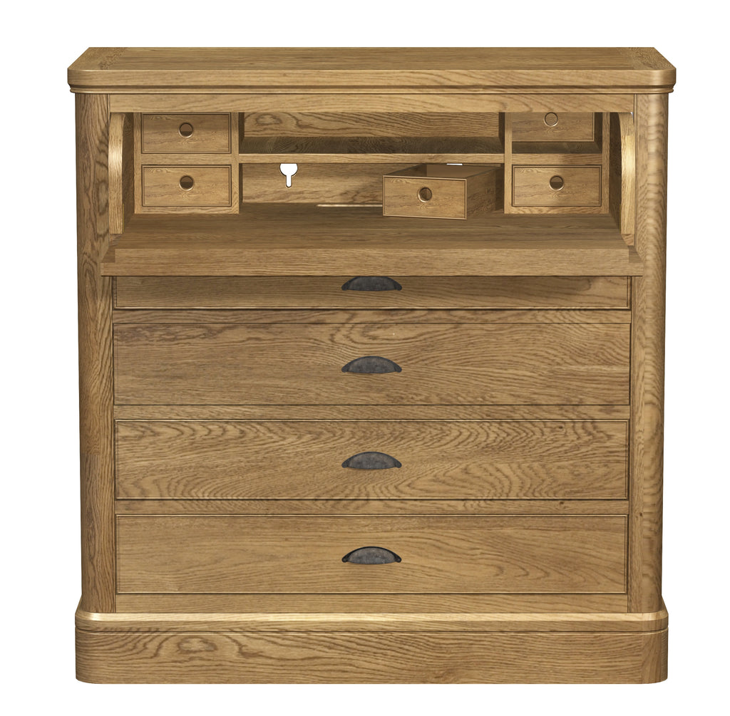 Copeland Oak Chest Desk.