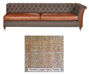 Granby Harris Tweed and Leather Modular Corner Groups