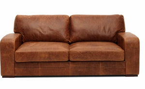 Cromwell Full Aniline Leather Sofas