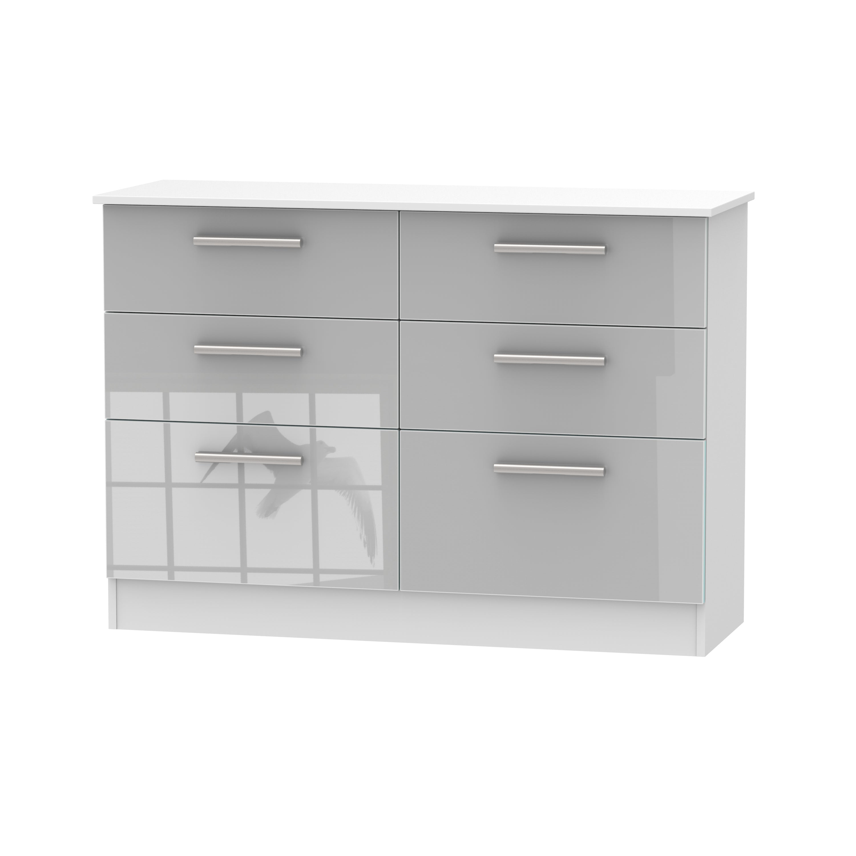 Cheap and Cheerful Chests of Drawers In Grey and White