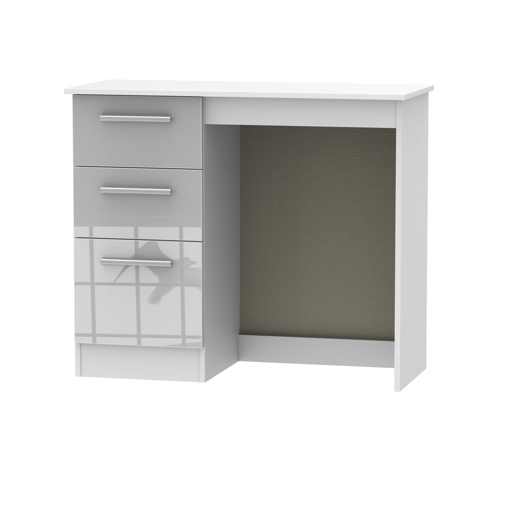 Cheap and Cheerful Dressing Tables/Desks In Grey and White