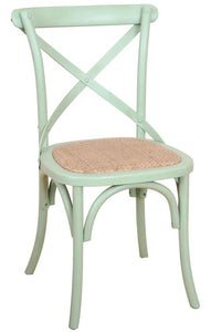 John Lewis Cross Back Dining Chairs in 2 Colours Immediate Delivery