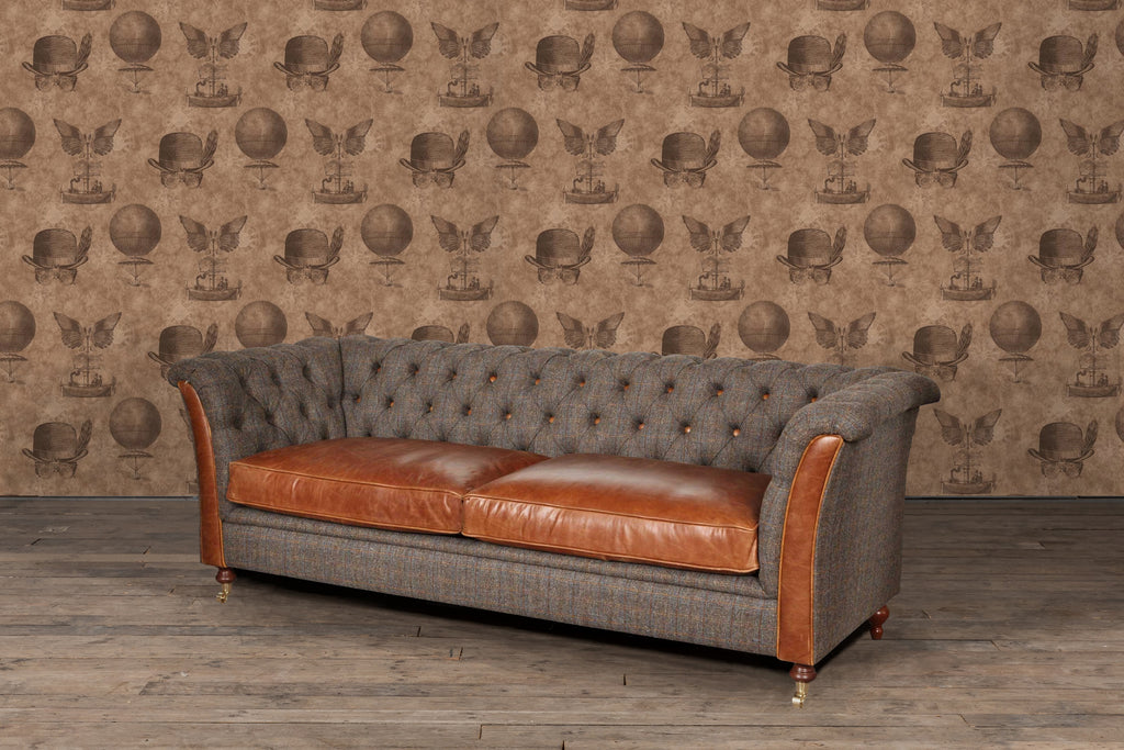 granby harris tweed sofas