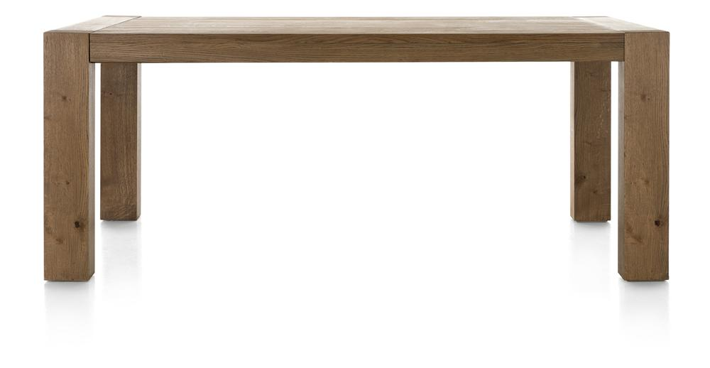 Habufa Santorini Fixed Top Dining Table-Dining Table-Against The Grain Furniture-160 x 90cm-Against The Grain Furniture