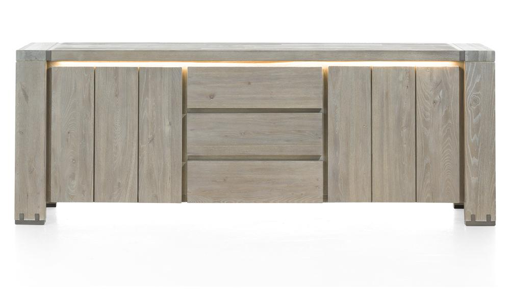 Habufa Avola/Mist Sideboards Less 40% at Checkout-Sideboard-Against the Grain Furniture-220cm-Against The Grain Furniture