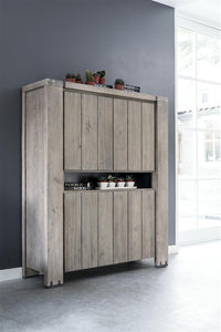 Habufa Avola/Mist Storage Cabinet Less 40% at Checkout-storage display cabinet-Against the Grain Furniture-Against The Grain Furniture