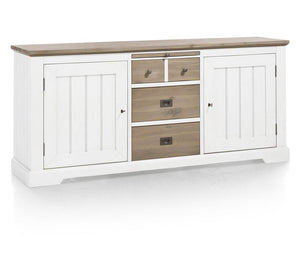 Habufa Le Port Sideboard 2.20-Sideboard-Against The Grain Furniture-Pure White-Against The Grain Furniture