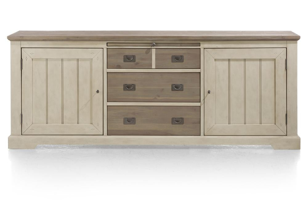Habufa Le Port Sideboard 2.20-Sideboard-Against The Grain Furniture-French White-Against The Grain Furniture