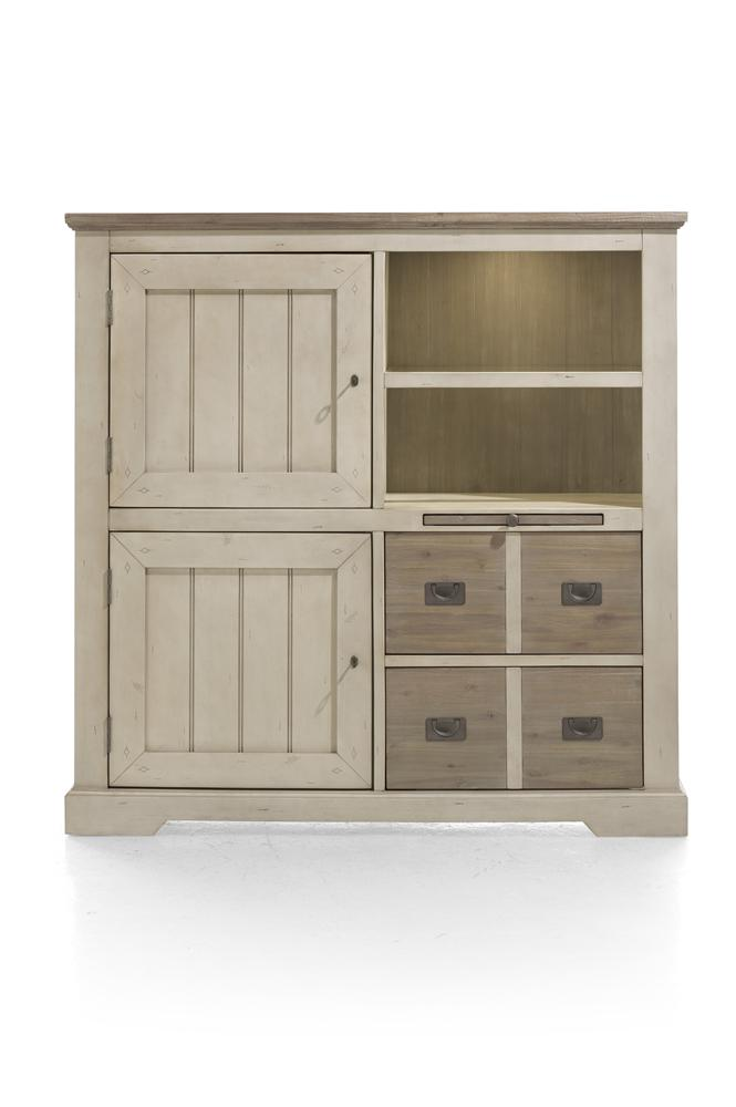 Habufa Le Port Highboard-Highboard-Against The Grain Furniture-Against The Grain Furniture