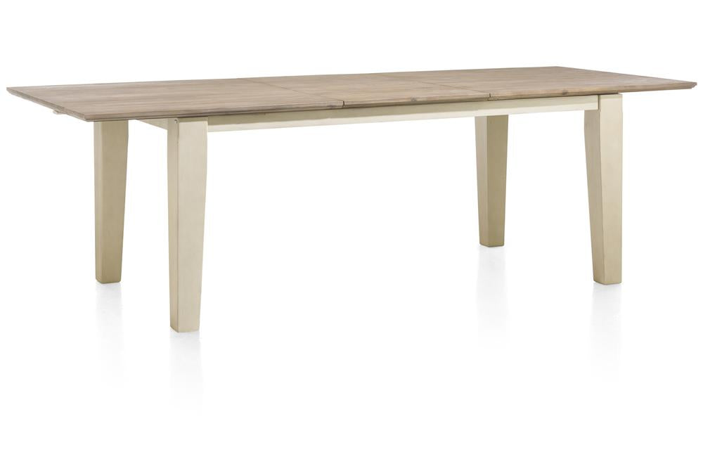 Habufa Le Port Extending Tables-Le port extending tables-Against The Grain Furniture-French White-160cm-Against The Grain Furniture