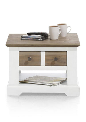Habufa Le Port SideTable-side table-Against The Grain Furniture-Pure White-Against The Grain Furniture