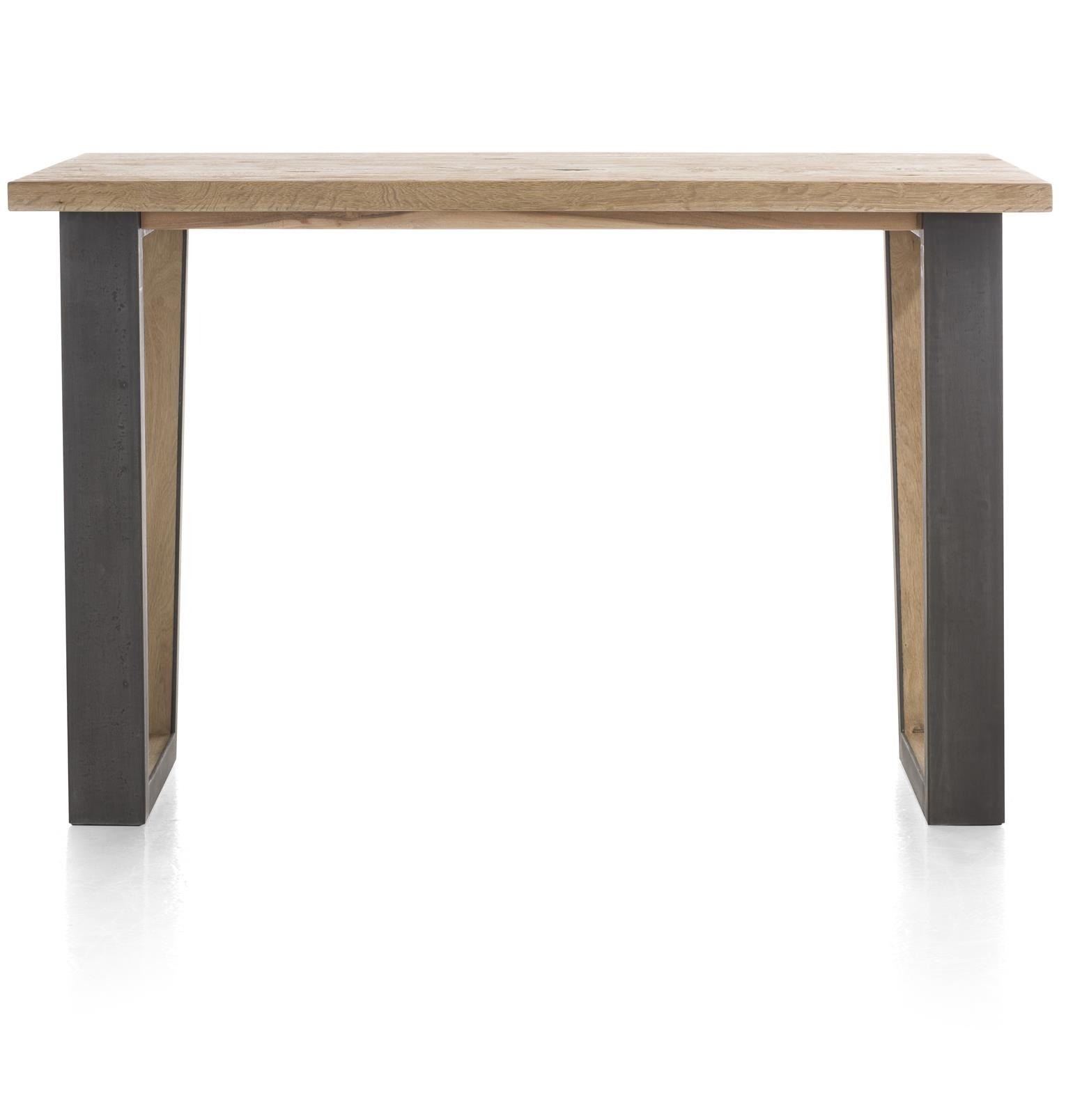 Habufa Metalox Bar Tables in Oak