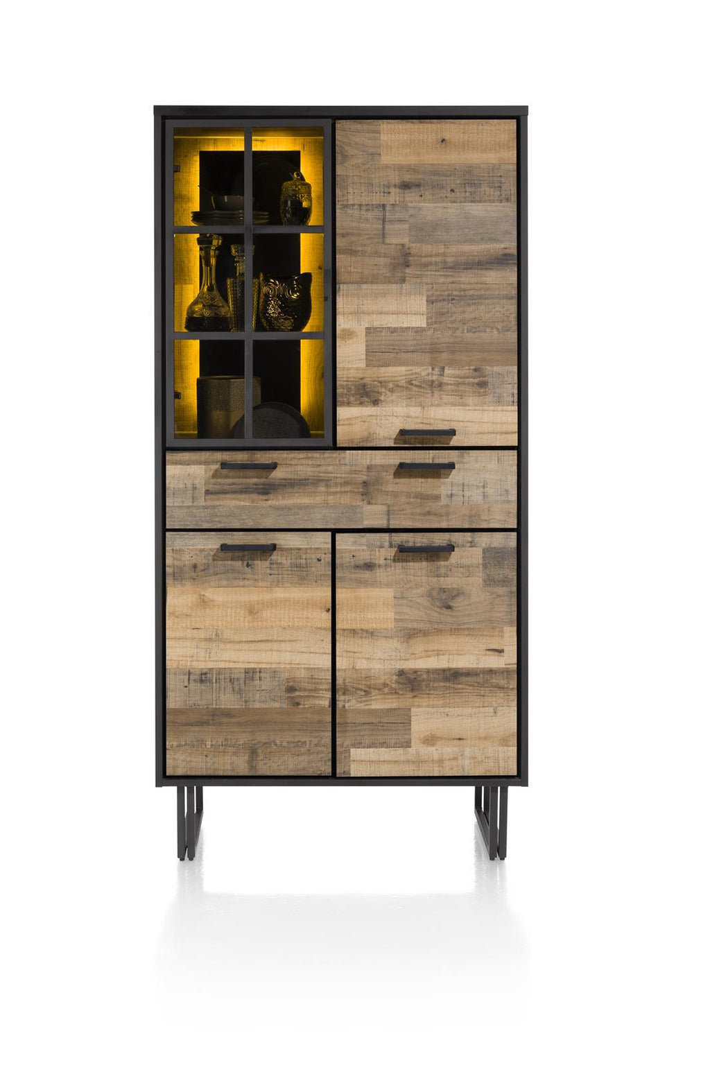 Habufa Avalon Driftwood Display Storage Cabinet