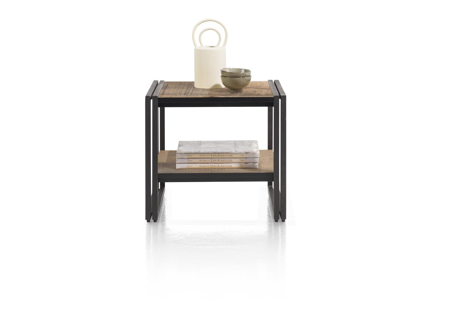Habufa Avalon Driftwood Coffee and Lamp Tables