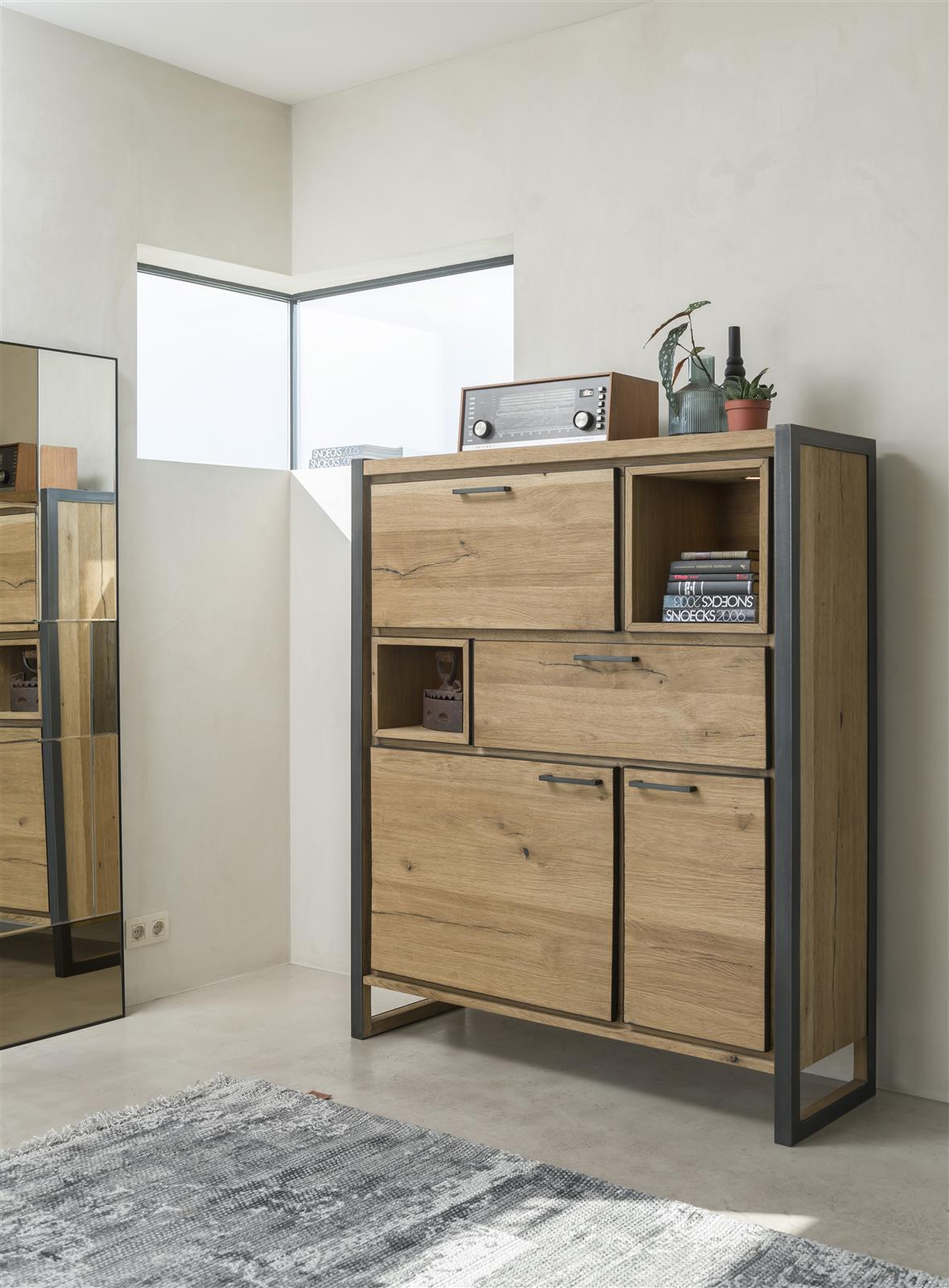 Habufa Metalox Small Display Storage Cabinet