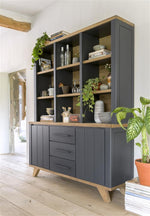 Habufa Jardin Buffet Display Cabinet-Buffet Hutch-Against the Grain Furniture-Against The Grain Furniture