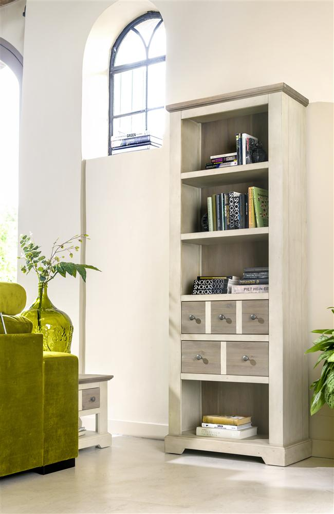 Habufa Le Port Bookcase-Bookcase-Against The Grain Furniture-Against The Grain Furniture