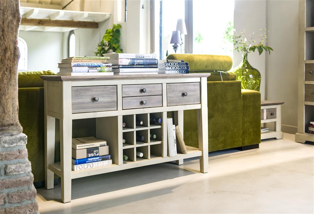 Habufa Le Port Console Table-Consul table-Against The Grain Furniture-Against The Grain Furniture