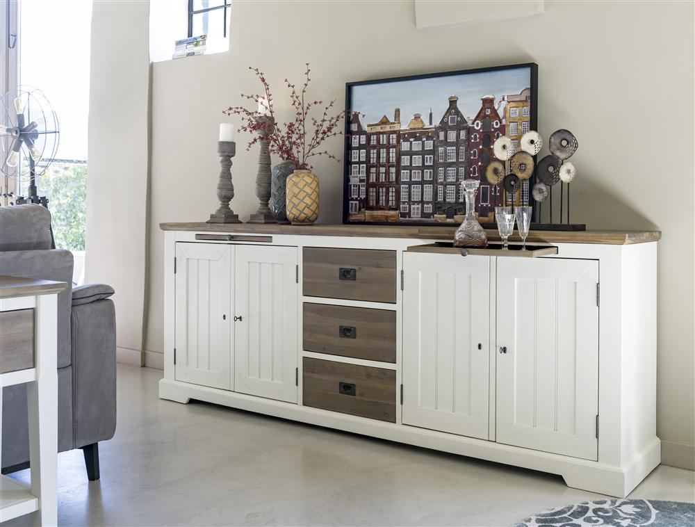 Habufa Le Port Sideboard 2.40-Sideboard-Against The Grain Furniture-Against The Grain Furniture