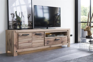Habufa Maestro and Maitre Lowboard TV Media Cabinets-Lowboard TV cabinets-Against The Grain Furniture-Against The Grain Furniture