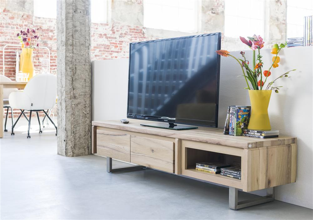 Masters Bespoke TV Media Stands in Solid Oak-Tv media stands-Against The Grain Furniture-Against The Grain Furniture