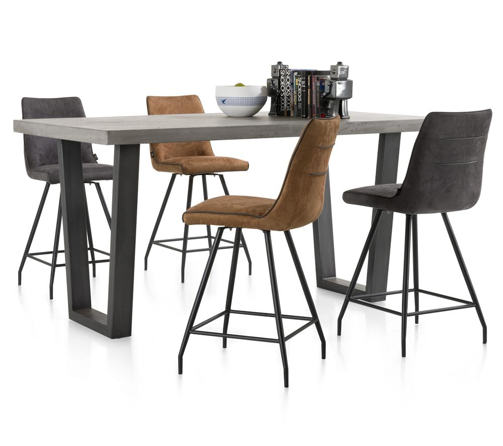 Habufa Farmero Concrete Top Bar Tables.-bar Tables-Habufa Baltimore-Against The Grain Furniture