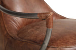 Maverick Retro Leather Chair