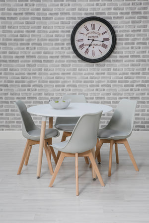 round kitchen dining set