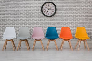 Urban Dining Chairs in 6 Colours, Price for 4 Chairs