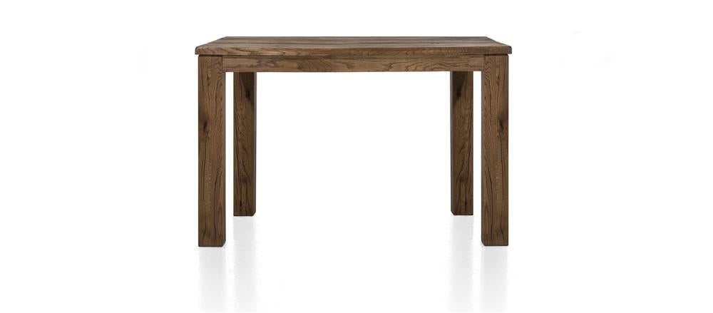 Masters Bespoke Small Fixed Top Tables in Solid Oak-fixed top table-Against The Grain Furniture-70 x 120-Vintage White-9 x 9 Wood-Against The Grain Furniture