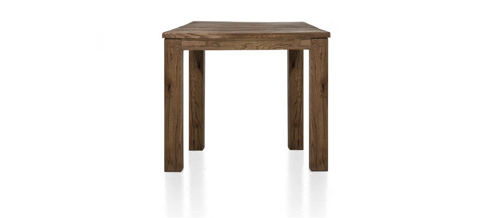 Masters Bespoke Small Fixed Top Tables in Solid Oak-fixed top table-Against The Grain Furniture-90 x 90-Vintage White-9 x 9 Wood-Against The Grain Furniture