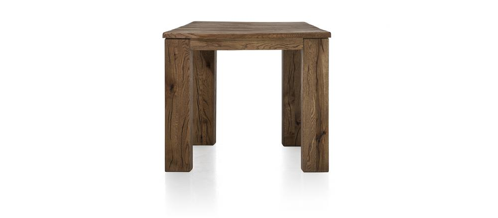 Masters Bespoke Small Fixed Top Tables in Solid Oak-fixed top table-Against The Grain Furniture-90 x 90-Vintage White-12 x 12 Wood-Against The Grain Furniture