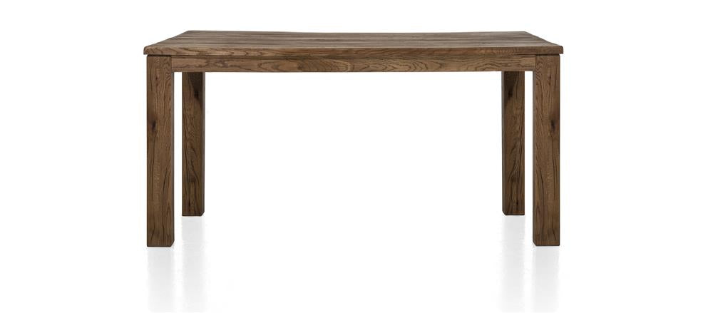 Masters Bespoke Medium Fixed Top Tables in Solid Oak-fixed top table-Against The Grain Furniture-90 x 160-Vintage White-9 x 9 Wood-Against The Grain Furniture