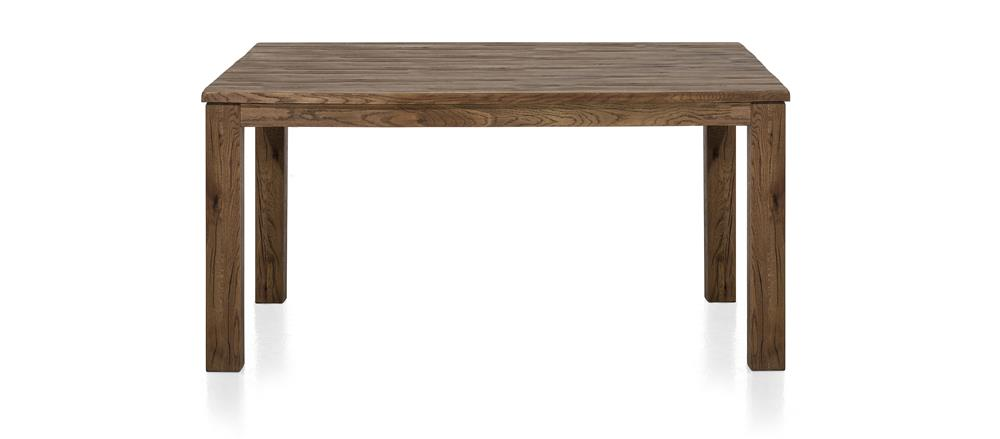 Masters Bespoke Large Fixed Top Tables in Solid Oak-fixed top table-Against The Grain Furniture-140 x 160 Square-Vintage White-9 x 9 Wood-Against The Grain Furniture