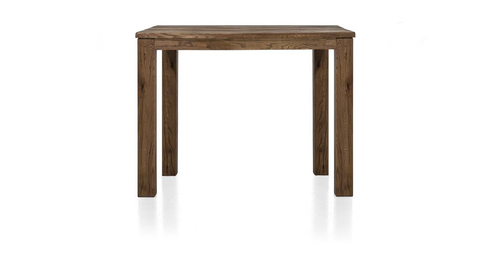 Masters Bespoke Small Fixed Top Bar Tables in Solid Oak-fixed top table-Against The Grain Furniture-70 x 120cm-Vintage Summer Grey-9 x 9 Wood-Against The Grain Furniture