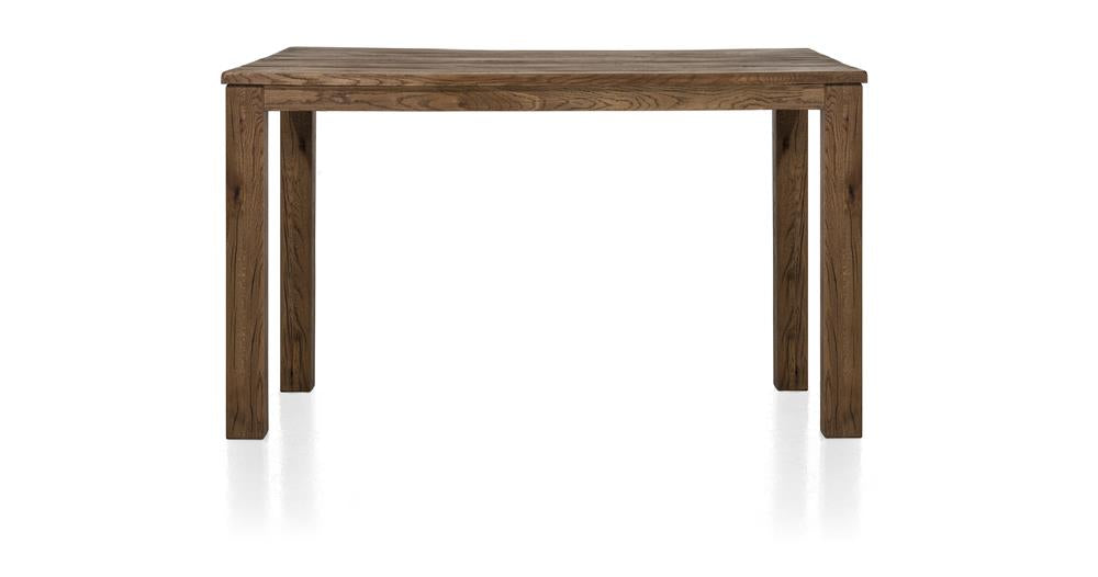 Masters Bespoke Medium Fixed Top Bar Tables in Solid Oak-fixed top table-Against The Grain Furniture-90 x 160cm-Vintage Summer Grey-9 x 9 Wood-Against The Grain Furniture